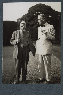 Gordon Bottomley; Philip Edward Morrell, by Lady Ottoline Morrell - NPG Ax143903