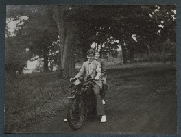 David Wemyss and a friend, by Lady Ottoline Morrell - NPG Ax143907