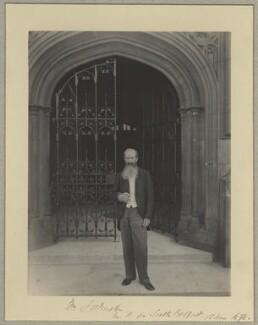 William Johnston, by Benjamin Stone - NPG x29013