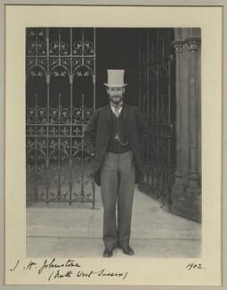 John Heywood Johnstone, by Benjamin Stone - NPG x29014