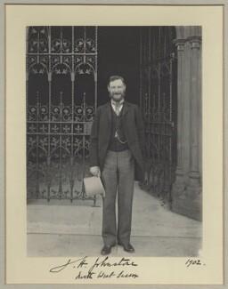 John Heywood Johnstone, by Benjamin Stone - NPG x29015