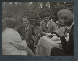 Gertrude Emerson Sen; Lionel Tilden; Boshi Sen; Philip Edward Morrell, by Lady Ottoline Morrell - NPG Ax143947