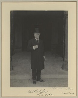 Llewellyn Archer Atherley-Jones, by Sir (John) Benjamin Stone, March 1911 - NPG x29022 - © National Portrait Gallery, London