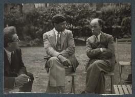 Samuel Solomonovich ('Kot') Koteliansky; Boshi Sen; James Stephens, by Lady Ottoline Morrell - NPG Ax143943