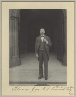 Michael Joyce, by Sir (John) Benjamin Stone, 1904 - NPG x29031 - © National Portrait Gallery, London