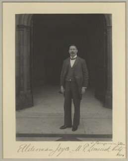 Michael Joyce, by Sir (John) Benjamin Stone, 1904 - NPG x29032 - © National Portrait Gallery, London