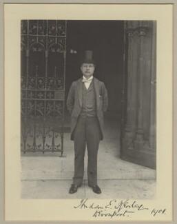 Hudson Ewbanke Kearley, 1st Viscount Devonport, by Benjamin Stone - NPG x29034