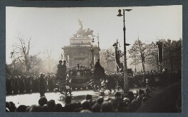 'The Funeral Procession of King George V', possibly by Lady Ottoline Morrell - NPG Ax143967