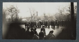 'The Funeral Procession of King George V', possibly by Lady Ottoline Morrell - NPG Ax143968