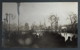 'The Funeral Procession of King George V', possibly by Lady Ottoline Morrell - NPG Ax143969