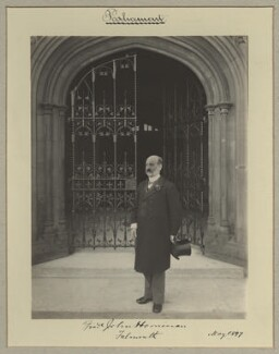 Frederick John Horniman, by Sir (John) Benjamin Stone, May 1897 - NPG x20411 - © National Portrait Gallery, London