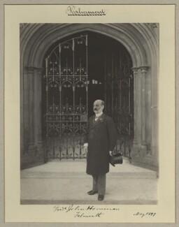 Frederick John Horniman, by Benjamin Stone - NPG x20411
