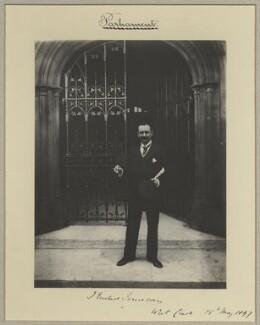 John Eustace-Jameson, by Benjamin Stone - NPG x20427