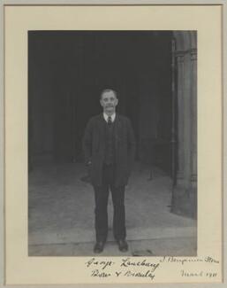George Lansbury, by Benjamin Stone - NPG x31507