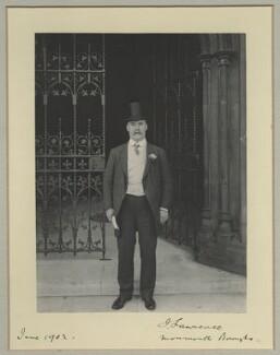 Sir Joseph Lawrence, 1st Bt, by Benjamin Stone - NPG x31508