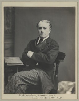 Henry Matthews, Viscount Llandaff, by Benjamin Stone - NPG x32514