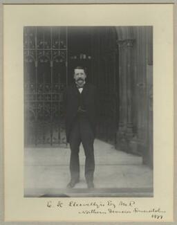 Evan Henry Llewellyn, by Benjamin Stone - NPG x31519