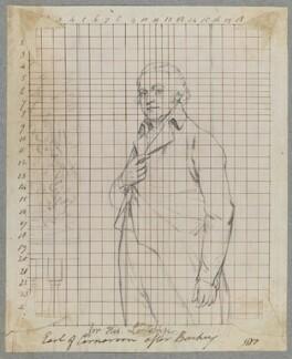 Henry Herbert, 1st Earl of Carnarvon, by Henry Bone, after  Sir William Beechey - NPG D17251