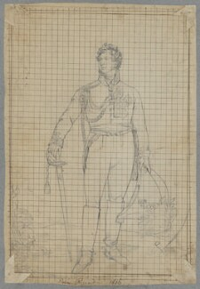 King George IV when Prince Regent, by Henry Bone, after  Sir Thomas Lawrence - NPG D17252