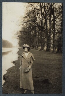 Lady Ottoline Morrell, by Philip Edward Morrell - NPG Ax144092