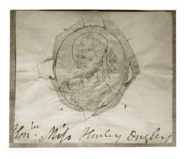 Hon. Frances Henley-Ongley, by Henry Bone, possibly after  Andrew Plimer - NPG D17272