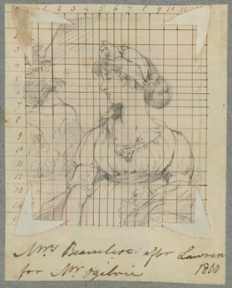 Emily Charlotte Beauclerk (née Ogilvie), by Henry Bone, after  Sir Thomas Lawrence - NPG D17273
