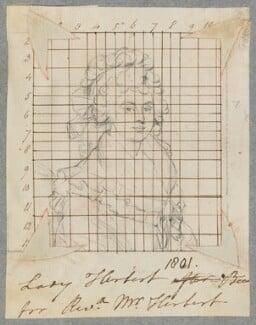 Elizabeth Herbert (née Beauclerk), Countess of Pembroke, by Henry Bone, after  Sir William Beechey - NPG D17283