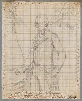 John Willett Payne, by Henry Bone, after  John Hoppner - NPG D17288
