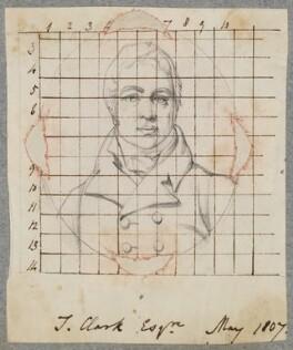Possibly Theophilus Clarke, possibly by Henry Bone, after  Henry Pierce Bone - NPG D17292