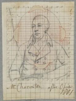 John Charrington, by Henry Bone, after  John Opie - NPG D17314