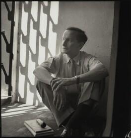 Rudolf Arnheim, by John Gay, 1950s - NPG x128693 - © National Portrait Gallery, London