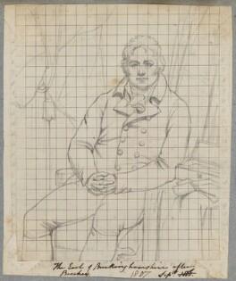 Robert Hobart, 4th Earl of Buckinghamshire, by Henry Bone, after  Sir William Beechey, 1807 (exhibited 1807) - NPG D17332 - © National Portrait Gallery, London