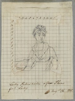 Frances Freeman-Mitford (née Perceval), Lady Redesdale, by Henry Bone, after  Sir Martin Archer Shee - NPG D17337