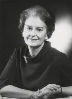 Dame Muriel Powell, by Godfrey Argent - NPG x166032