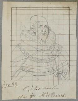 Sir John Bankes, Bt, by Henry Bone, possibly after  Gilbert Jackson - NPG D17344