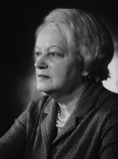 (Anna) Dora Gaitskell (née Creditor), Baroness Gaitskell, by Godfrey Argent - NPG x38818