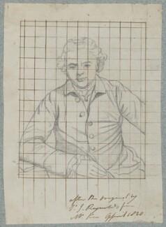 John Gawler, by Henry Bone, after  Sir Joshua Reynolds - NPG D17358
