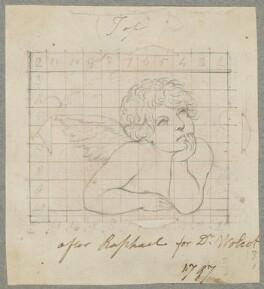 Angel, by Henry Bone, after  Raphael (Raffaello Santi) - NPG D17366