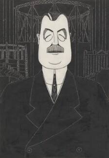 Arthur Henderson, by Powys Evans, 1924 - NPG 6799 - © estate of Powys Evans