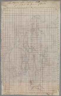 King George III, by Henry Bone, after  Sir William Beechey - NPG D17381