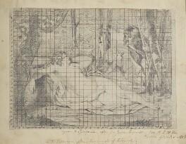 Cymon and Iphigenia, by Henry Bone, after  Sir Joshua Reynolds - NPG D17385