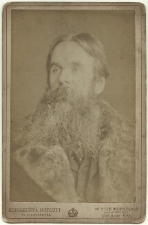 William Holman Hunt, by Kingsbury & Notcutt - NPG x4179
