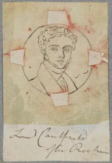 James William Caulfeild, Viscount Caulfeild, by Henry Bone, after  Simon Jacques Rochard - NPG D17411