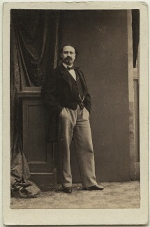 Pietro Mongini, by Camille Silvy - NPG Ax25065