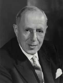 Sir Louis Halle Gluckstein, by Godfrey Argent - NPG x16447