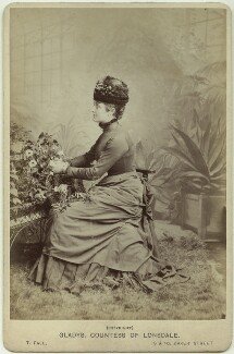 Constance Gwladys Robinson (née Herbert), Marchioness of Ripon, by Thomas Fall - NPG x29178