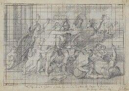 'The Horrors of War' (called Mars and Venus), by Henry Bone, after  Sir Peter Paul Rubens - NPG D17431