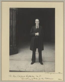 Hon. Alfred Lyttelton, by Benjamin Stone - NPG x31572