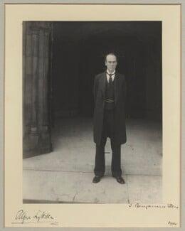Hon. Alfred Lyttelton, by Benjamin Stone - NPG x31573