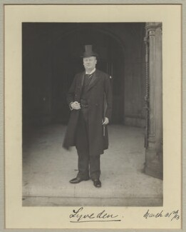 Courtenay Robert Percy Vernon, 3rd Baron Lyveden, by Benjamin Stone - NPG x31574
